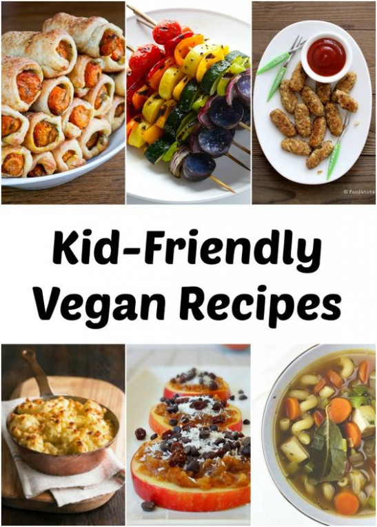 Kid-Friendly Vegan Recipes - Foodie Blog - We Dig Food ..