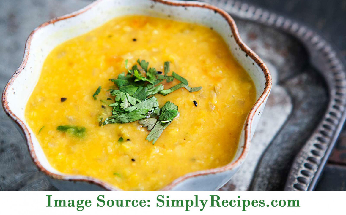 Kim's Healthy Recipe Of The Month: Red Lentil Dal - Sky ..