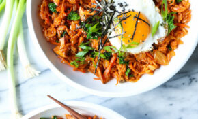 Kimchi Fried Rice – Recipe Vegetarian Fried Rice