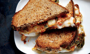 Kimchi Grilled Cheese Recipe - Cooking Light