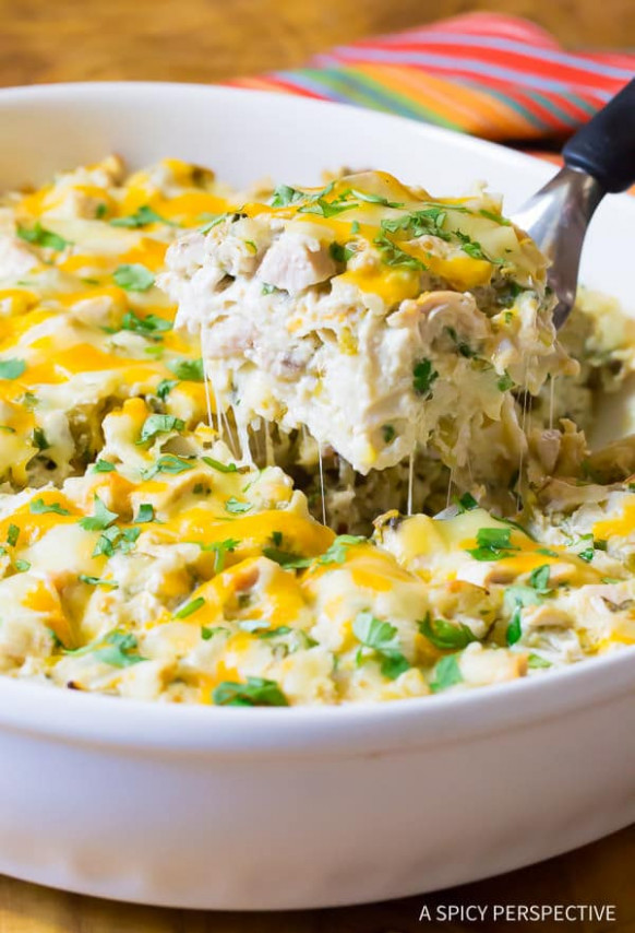 King Ranch Chicken Casserole - A Spicy Perspective - recipes ranch chicken