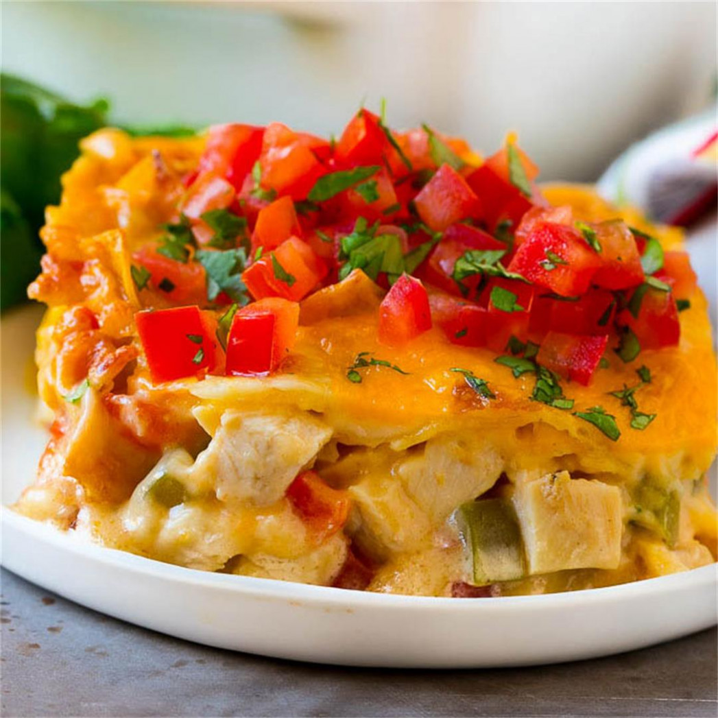 King Ranch Chicken - Dinner at the Zoo - recipes king ranch chicken