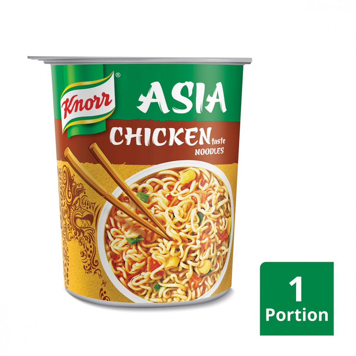 Knorr Asia Snackbecher Chicken Taste Noodle - chicken recipes knorr