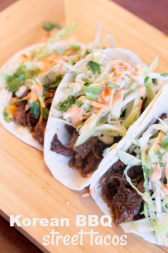 Korean BBQ Street Tacos | Receta | DINNER RECIPES | DINNER ..