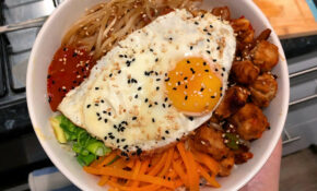 Korean Bibimbap Using Quorn Marinated Pieces : Vegetarian – Quorn Recipes Chicken Pieces