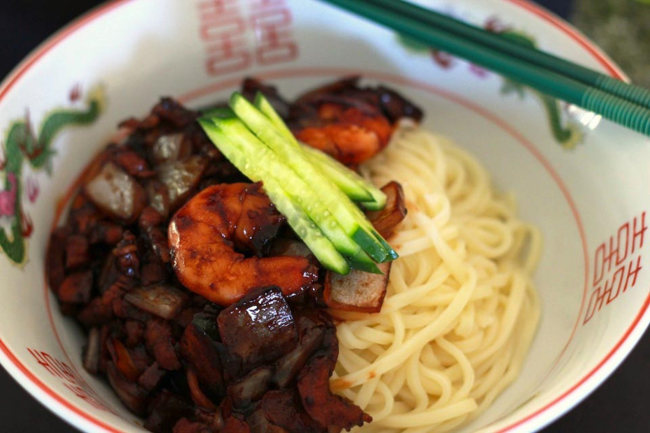 Korean Black Bean Noodles Recipe – 짜장면 (자장면) - Recipes And Food Delivery