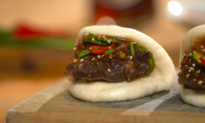 Korean Braised Short Ribs On Steamed Buns ~ Recipe | Tastemade – Recipes Korean Food