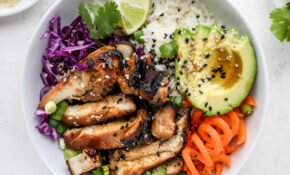 Korean Chicken Bowls With Coconut Rice – Rice Recipes Chicken