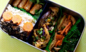 Korean Eggplant Recipe Bento – Japanese Recipes Vegetarian