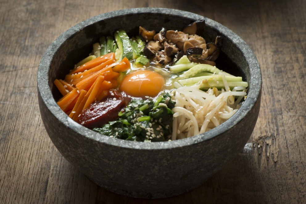 Korean Food - Dolsot Bimbimbap Recipe (Creative Commons) - vegetarian meal recipes