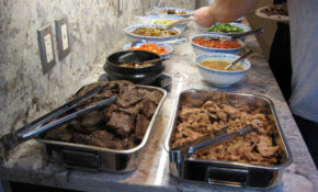 Korean Food Photo: Korean BBQ Birthday Dinner Buffet ..