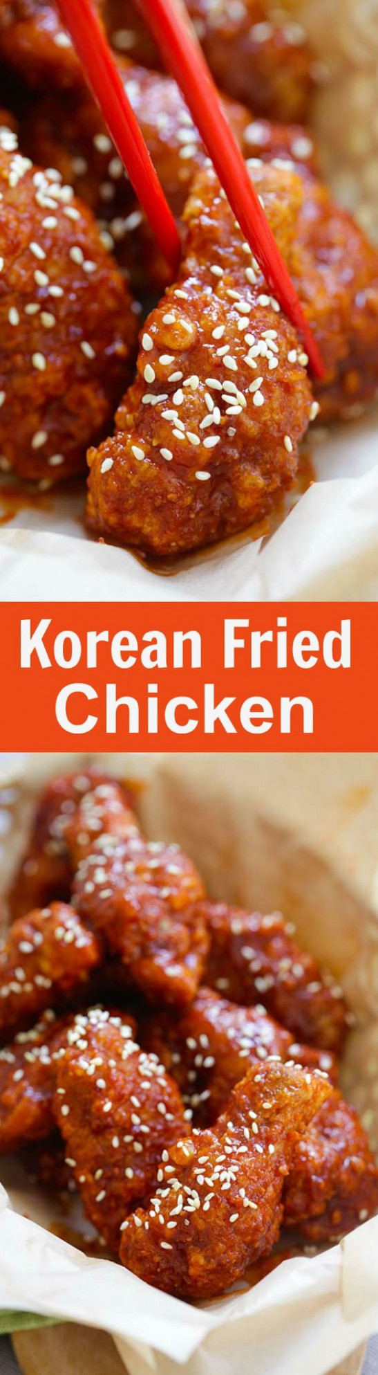 Korean Fried Chicken Recipe - chicken recipes korean