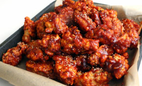 Korean Fried Chicken Recipe — Dishmaps – Chicken Recipes Korean