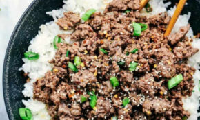 Korean Ground Beef And Rice Bowls | The Recipe Critic – Recipes Minced Beef Healthy