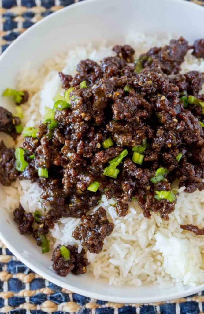 Korean Ground Beef - Dinner, then Dessert - recipes with ground beef for dinner
