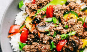 Korean Ground Beef Stir Fry – Recipes For Ground Beef Healthy