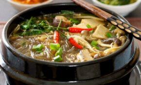 Korean Hot Pot Recipe | RecipeLand
