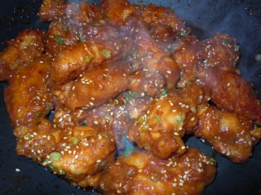 Korean Spicy Chicken Wings - Restaurant Recipe! Recipe ..
