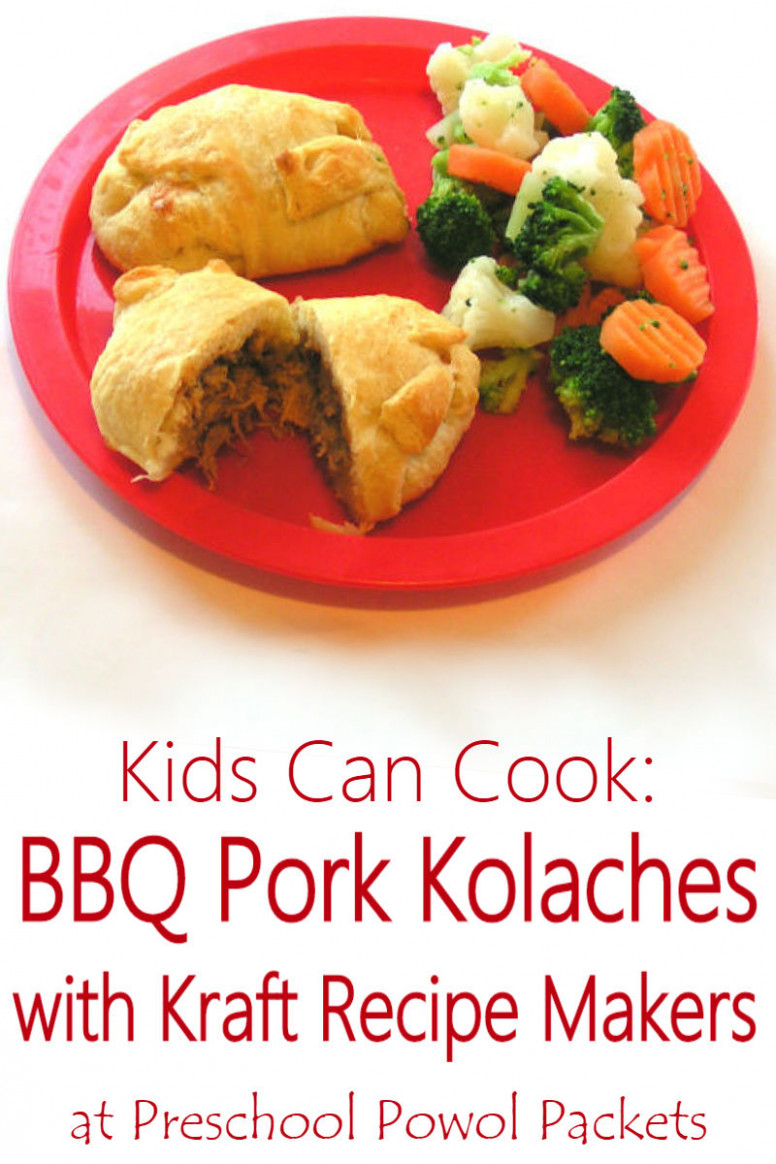 Kraft Recipe Makers Review & Kids Can Cook BBQ Pork Kolaches ..