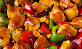 Kung Pao Chicken - Dinner at the Zoo