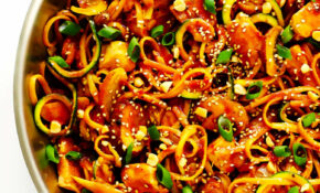 Kung Pao Chicken Noodle Stir Fry – Vermicelli Noodle Recipes Chicken