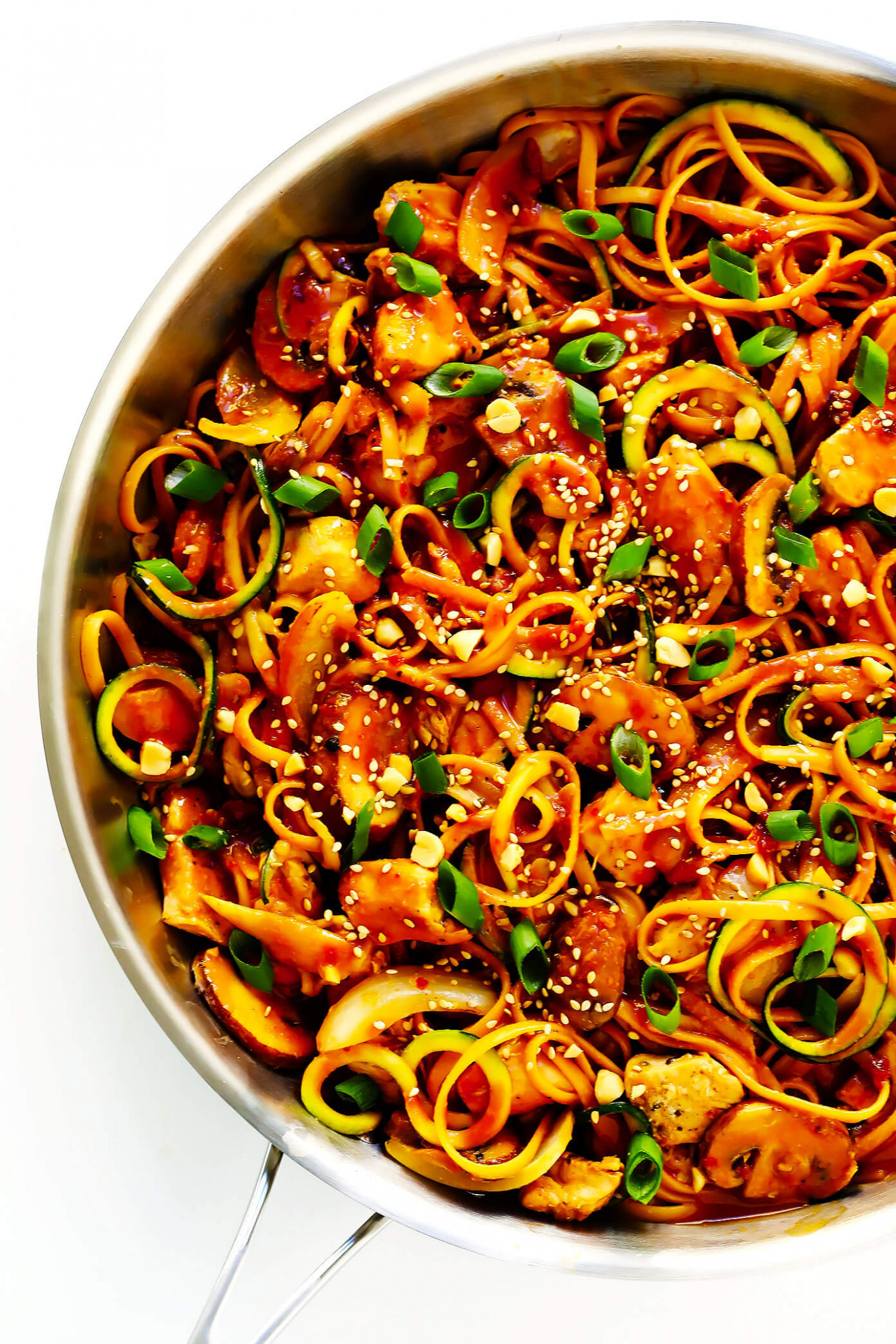 Kung Pao Chicken Noodle Stir Fry - Vermicelli Noodle Recipes Chicken