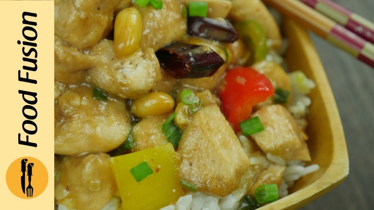 Kung Pao Chicken Recipe By Food Fusion - YouTube - Chicken Recipes Boneless