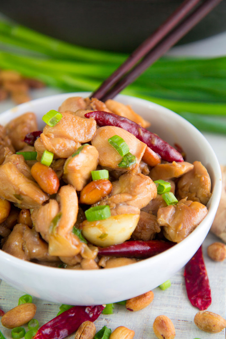 KUNG PAO CHICKEN RECIPE & HISTORY - all you need to know! - recipes kung pao chicken