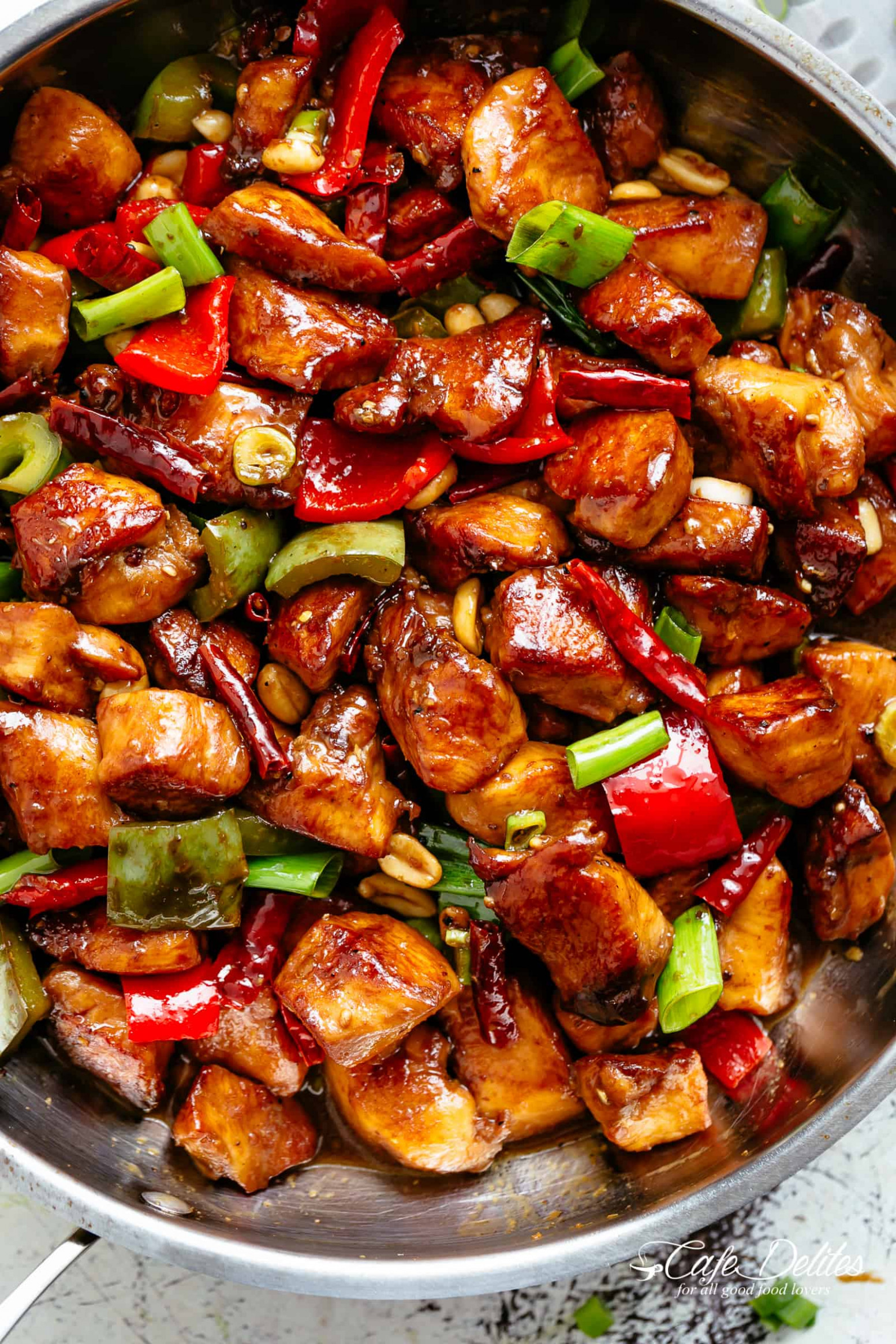 Kung Pao Chicken - recipes dinner asian