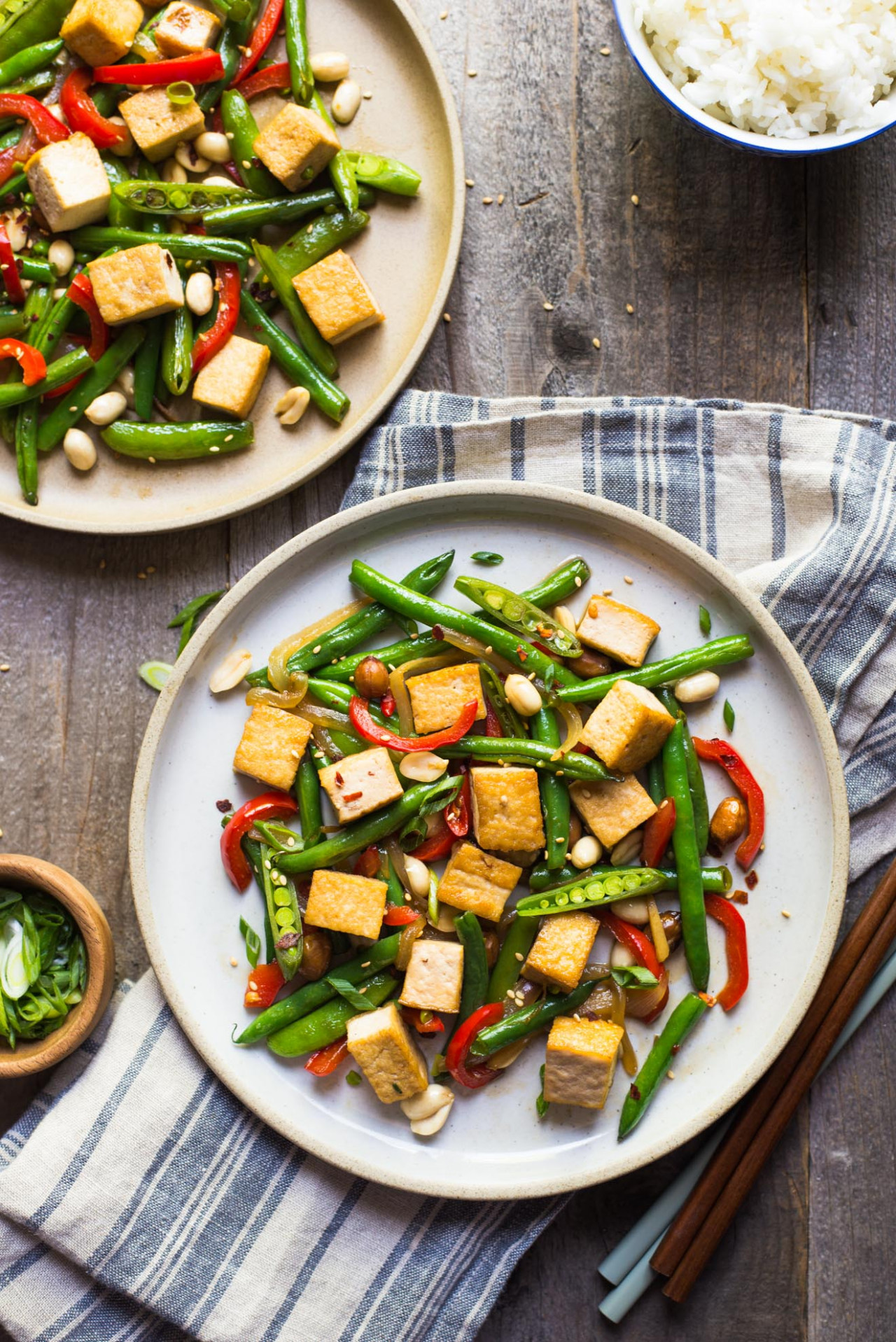 Kung Pao Tofu Stir Fry (Vegetarian) | Healthy Nibbles - Recipes With Tofu Healthy