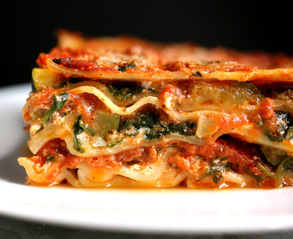 Lasagna With Steamed Spinach and Roasted Zucchini - The New ..