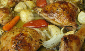 Lebanese Baked Chicken (Frarej) | Buttoni's Low Carb Recipes – Arabic Food Recipes