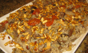 Lebanese Makloubi With Meat Recipe | LEBANESE RECIPES – Arabic Food Recipes With Pictures