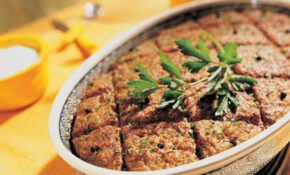 Lebanese Meat Loaf Recipe | Just A Pinch Recipes – Food Recipes Arabic