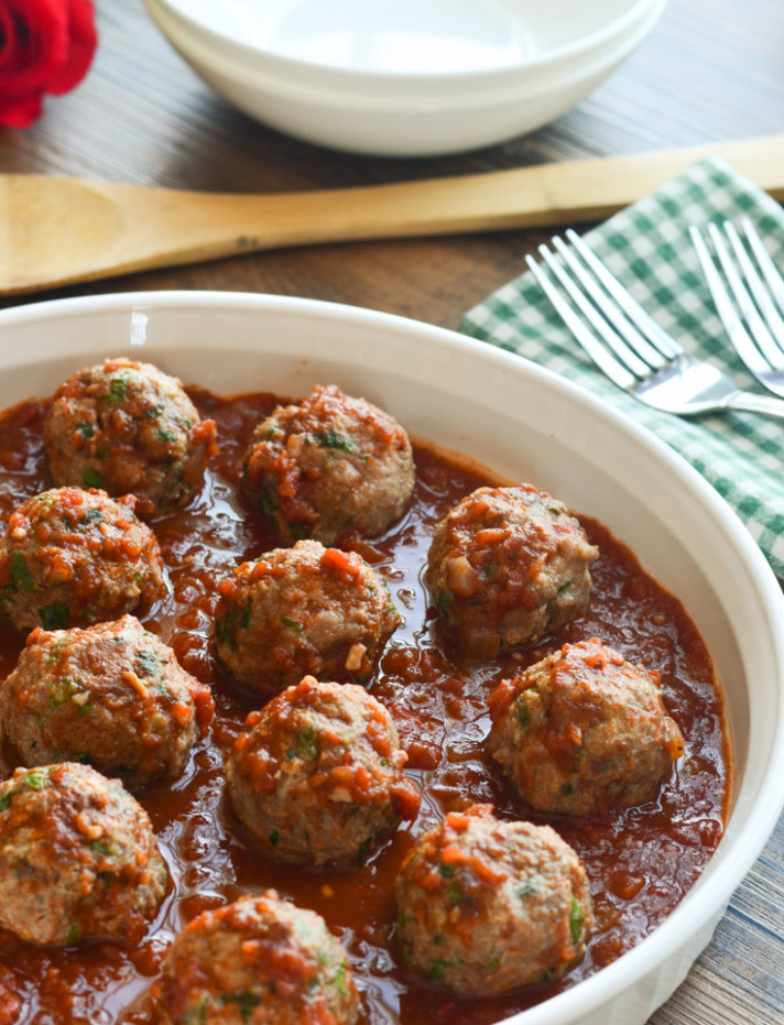 Lebanese Turkey Meatballs - The Spice Kit Recipes - Lebanese Recipes Chicken