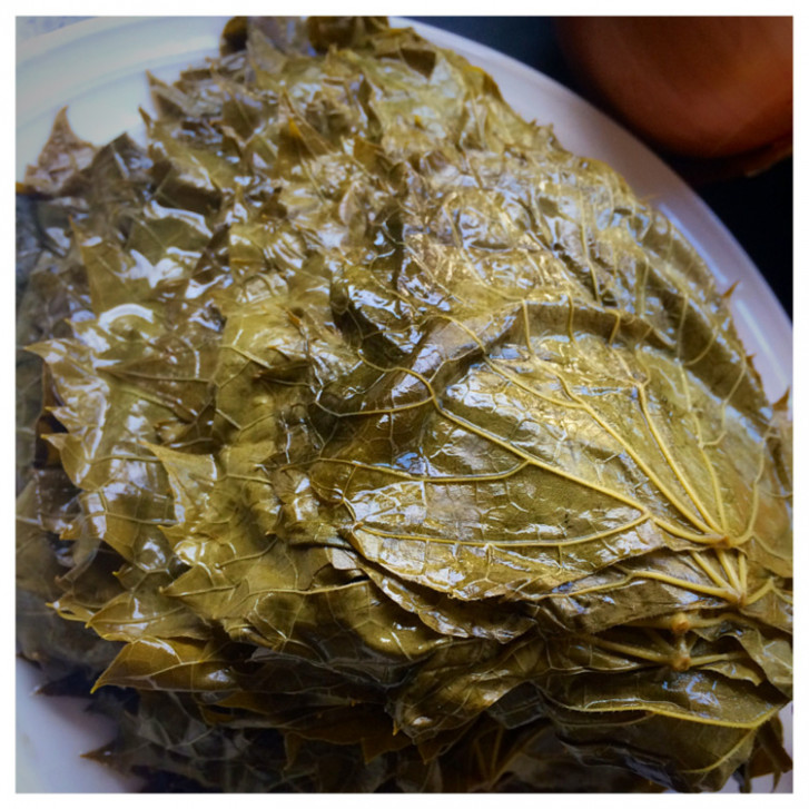 Lebanese Vegetarian Grape Leaves | Recipe Nomad - recipe vegetarian grape leaves