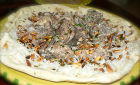 Lecker And Yummy Recipes: Mansaf  Jordanian National Food – Recipes Jordanian Food