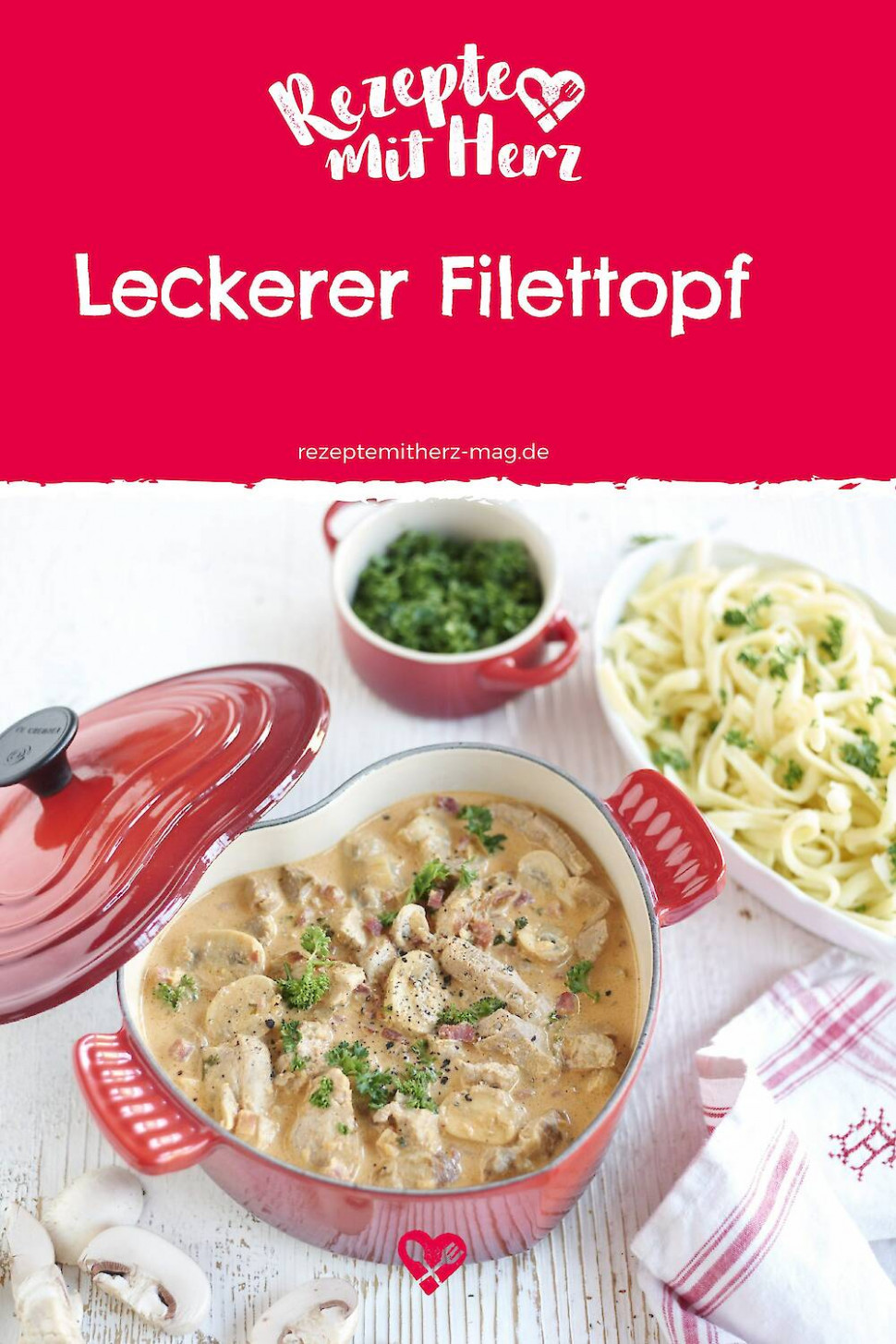 Leckerer Filet-Topf aus dem Thermomix - recipes vegetarian thermomix