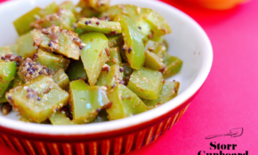 Leftover Green Pepper Curry – Storr Cupboard – Recipes Green Peppers Vegetarian