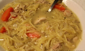 Leftover Rotisserie Chicken Noodle Soup Recipe – Girl Gone Mom – Recipes To Make With Rotisserie Chicken