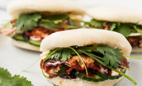 Leftover Turkey Bao (Steamed Buns) – Healthy Recipes Quick And Easy