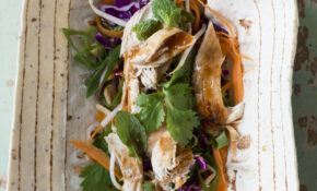 Leftover Turkey Or Chicken Asian Salad – Recipes With Leftover Chicken