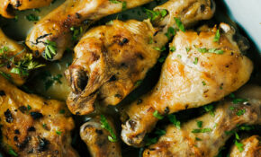 Lemon And Garlic Chicken Drumsticks Recipe – Recipes Garlic Chicken