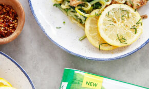 Lemon And Parmesan Chicken With Zucchini Noodles – Zucchini Pasta Recipes Chicken