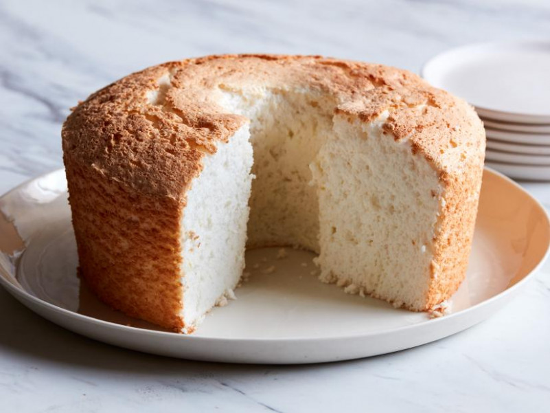 Lemon Angel Food Cake Recipe | Ina Garten | Food Network - recipes with angel food cake