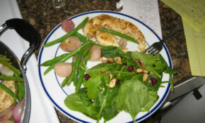 Lemon Butter Chicken + Cranberry Almond Spinach Salad – Chicken Recipes Vegetables