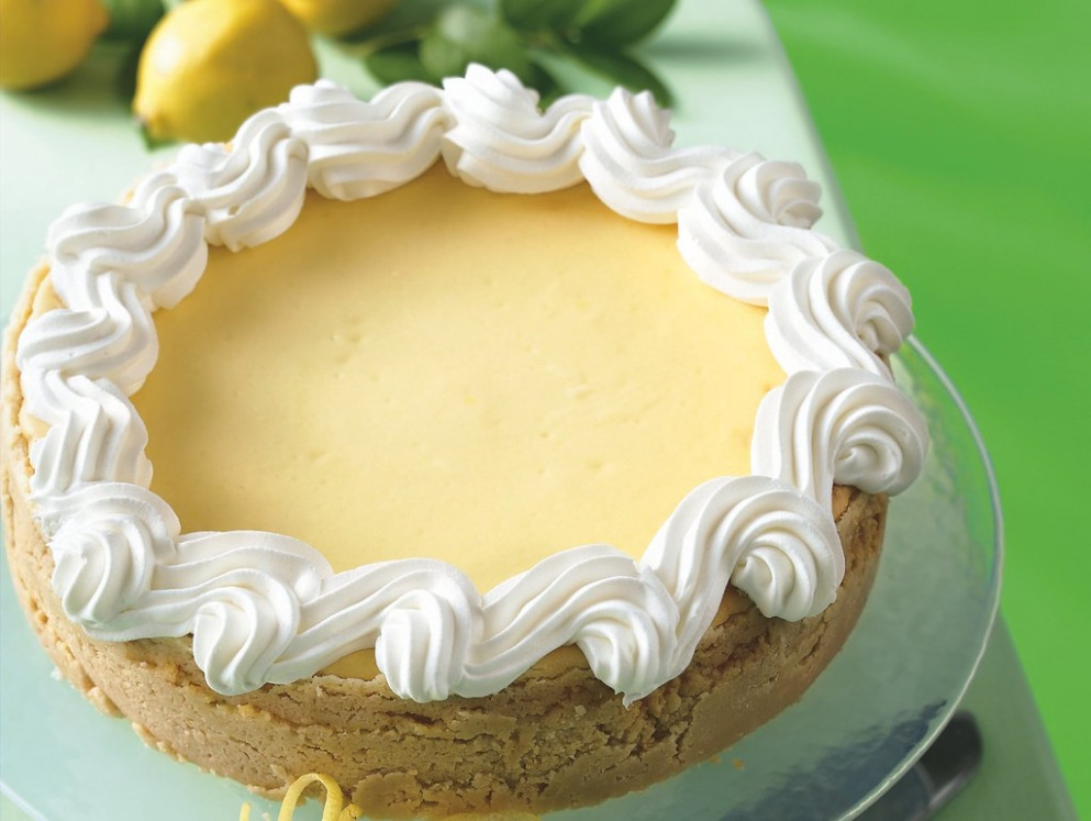 Lemon Cheesecake - Dessert Food Recipes