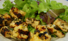 Lemon Chicken Kebabs – Chicken Recipes Lemon