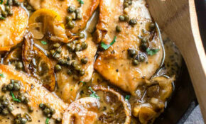 Lemon Chicken Piccata | Inquiring Chef – Recipes About Chicken