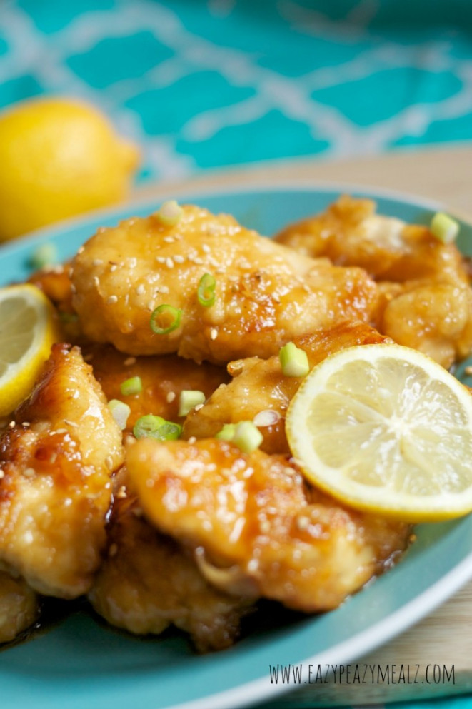 Lemon Chicken Recipe — Dishmaps - Recipes Lemon Chicken